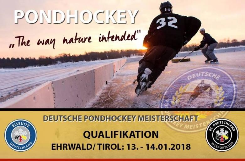 Qualifikation Ehrwald/Tirol, Deutsche Pondhockey Meisterschaft