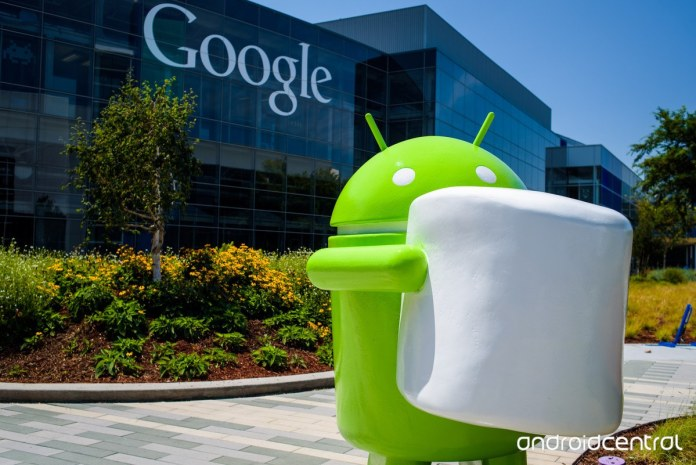 Android Marshmallow | image by: AndroidCentral.com