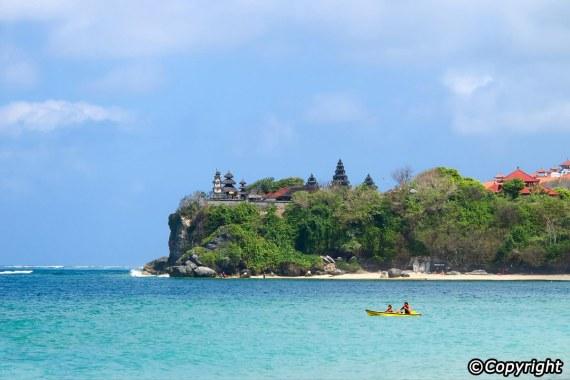 Salah Satu Pemandangan di Nusa Dua Bali