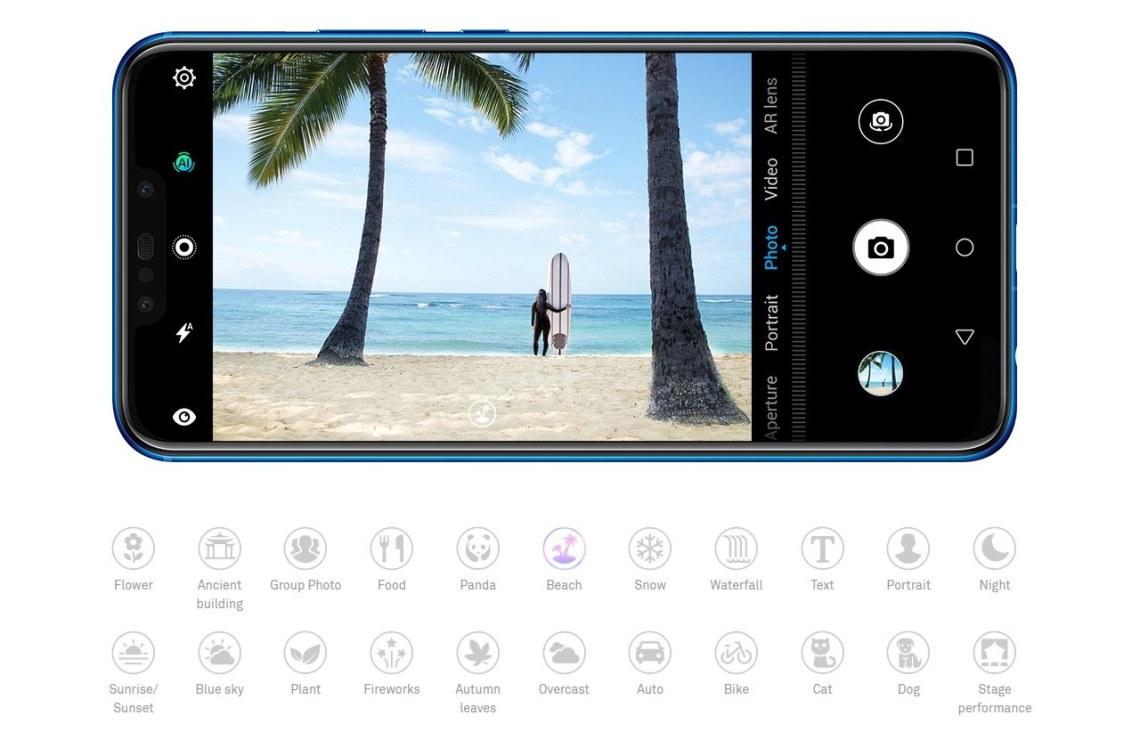 Huawei Nova 3i Kamera Depan