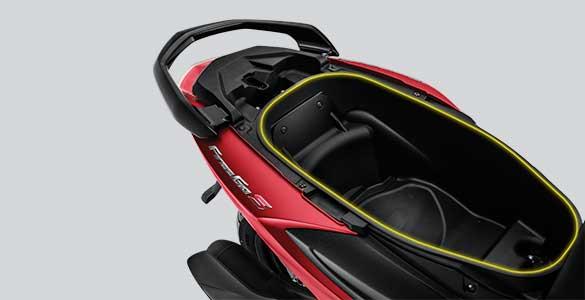 Bagasi Yamaha Freego S   Image Source: Website Resmi Yamaha