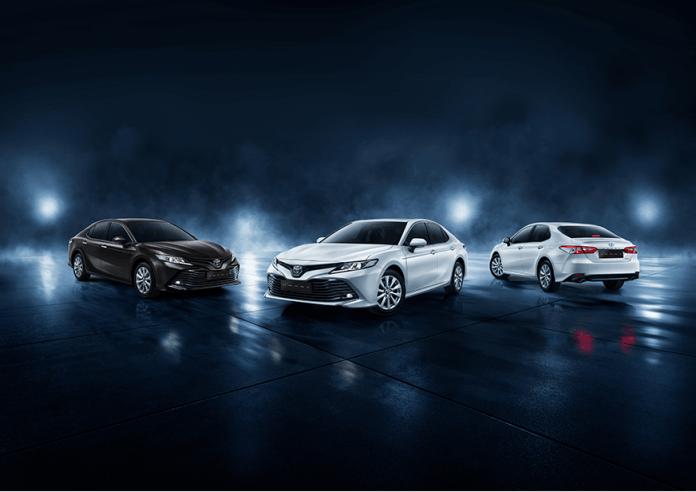 All New Toyota Camry 2019 - Full Display Eksterior