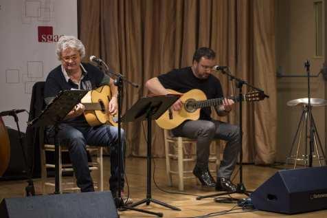 Joaquín Lera y Pablo Méndez en la presentación de 'La cuna del agua' y 'Cartas a Maitena' | (CC) Paula Díaz