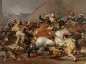 El dos de mayo de 1808 en Madrid o La carga de los mamelucos | 1814 | Francisco de Goya y Lucientes | Museo del Prado (Madrid)