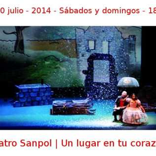 05 - 20 julio - 2014 - 18:00 h | Teatro Sanpol | Un lugar en tu corazón | Veranos de la Villa 2014 | Madrid
