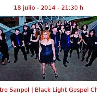 18 julio - 2014 - 21:30 h | Teatro Sanpol | Black Light Gospel Choir | Veranos de la Villa 2014 | Madrid