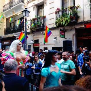 MADO'14 | Drags Queen | Carrera de Tacones 2014 | Chueca - Calle Pelayo