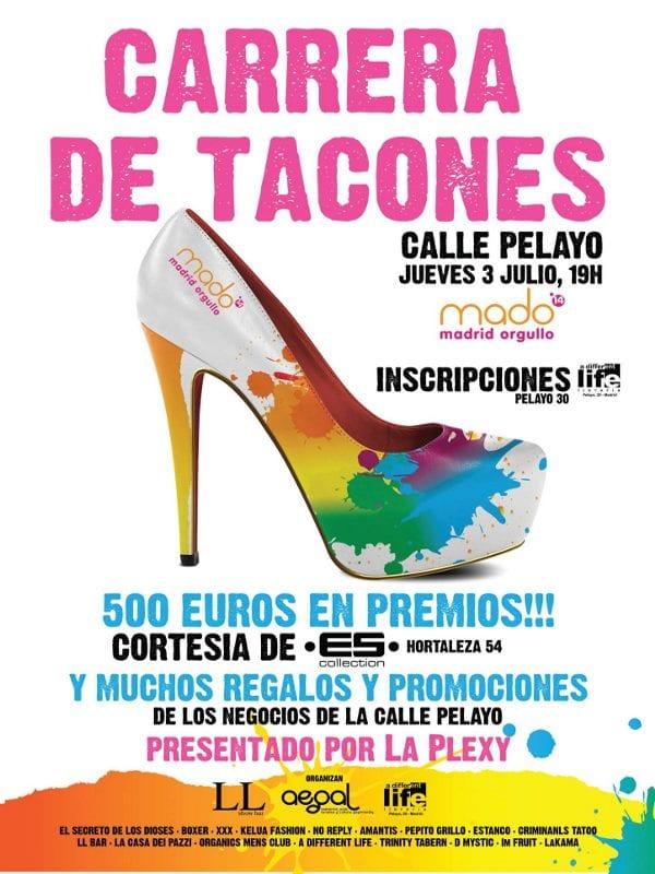 MADO'14 | Cartel | Carrera de Tacones 2014 | Chueca - Calle Pelayo