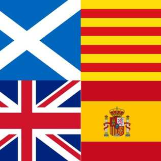 Escocia - Reino Unido | Catalunya - España | Un paralelismo sin paralelas | Portada