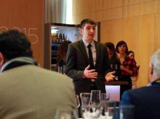 Gastronomía & Cerveza, nuevo concepto del maridaje | Casimiro Mahou & Racó d'en Cesc | Madrid Fusión 2015 | Edgar Rodríguez, sumiller