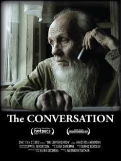 Cartel 'Razgovor' ('The conversation') de Anastasia Novikova | Rusia 2015 | Premio Especial del Jurado Cortometraje Internacional | DocumentaMadrid 2015
