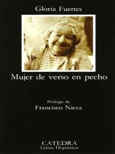 'Mujer de verso en pecho' | Gloria Fuertes | Editorial Cátedra | Madrid 1983 | Portada