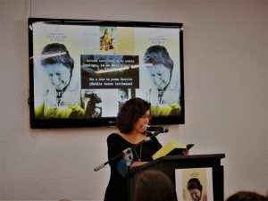 Lectura continuada de la poesía de Gloria Fuertes | Teatro Fernán Gómez. Centro Cultural de la Villa | 14/05/2017 | Marta Porpetta