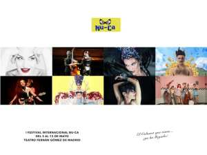 1er Festival Internacional NU-CA   Fernán Gómez-Centro Cultural de la Villa   Madrid   03 al 13/05/2018