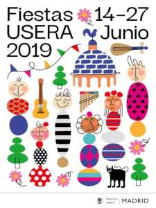 Fiestas de Usera 2019 | 14-27/06/2019 | Usera | Madrid | Cartel