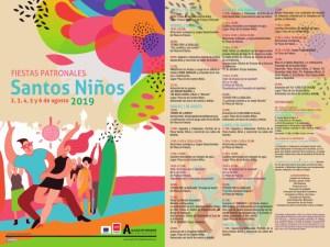 Fiestas de los Santos Niños 2019   Distrito I   Alcalá d Henares   Comunidad de Madrid   02-06/08/2019   Programa