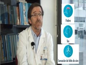 Vídeo sobre el coronavirus de la Comunidad de Madrid | Síntomas