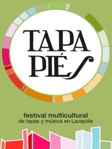 Tapapiés 2020   Concurso de Tapas Internacionales Gourmet   Barrio de Lavapiés   Madrid   17-25/11/2020   Cartel