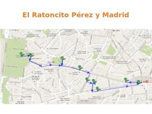 3 rutas navideñas del Ayuntamiento de Madrid   El Ratoncito Pérez y Madrid   Plano
