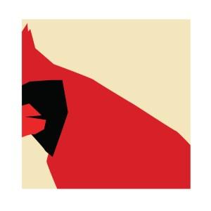 Nature Speaks | Richard Gene Barbera | 09/04-28/05/2021 | Galería de Arte A Ciegas | Lavapiés | Madrid | 'North American Cardinal Hope' (2021)