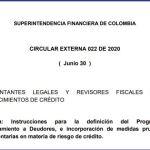 Programa de Acompañamiento a Deudores, e incorporación de medidas prudenciales complementarias en materia de riesgo de crédito.