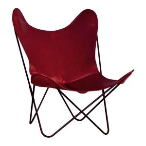 fauteuil-airborne-rouge-bordeaux-ponio
