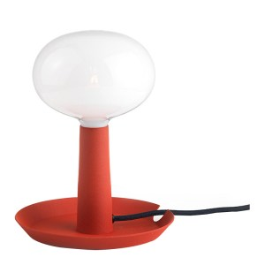 Lampe de table, Bsweden — Rouge Coquelicot
