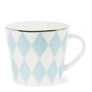 Mug, Miss Etoile — Bleu Turquoise, Ponio