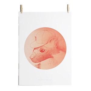 Poster, Paper Collective — Pêche, Ponio