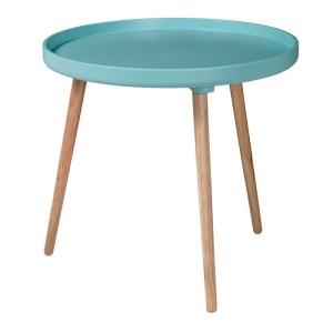 Table, Drawer — Bleu Turquoise, Ponio