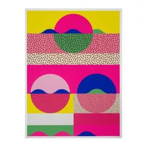 Affiche, Les Graphiquants — Fluo, Ponio