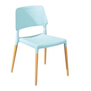 Chaises, Tilde — Bleu Nordique, Ponio