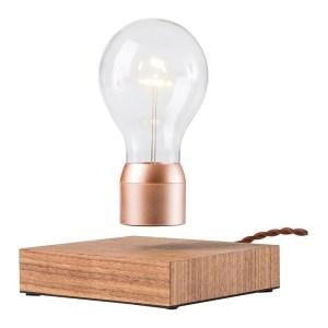 Lampe en lévitation, Simon Morris — Cuivre, Ponio