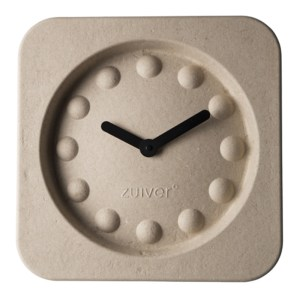 Horloge, Zuiver — Blanc Crème, Ponio