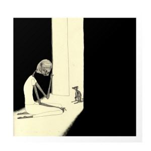 Affiche, Auntiekatar — Jaune Poussin, Ponio