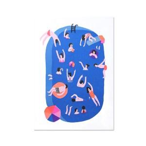 Affiche, Léa Maupetit — Bleu Roi, Ponio