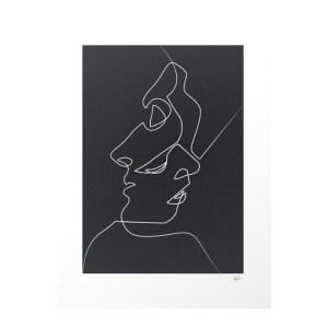 Affiche, Quibe — Noir Réglisse, Ponio