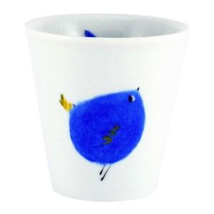 Mug, Morpho Bleu Porcelaine — Bleu roi, Ponio