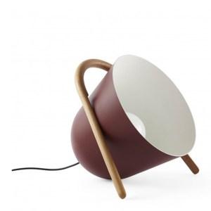 Lampe de sol, Incipit Lab — Rouge Bordeaux, Ponio