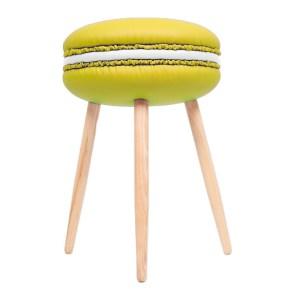 Tabouret, Design Living Studio — Jaune Citron, Ponio