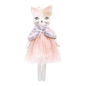 Doudou chat, Chloe et Claude — Rose Dragée, Ponio