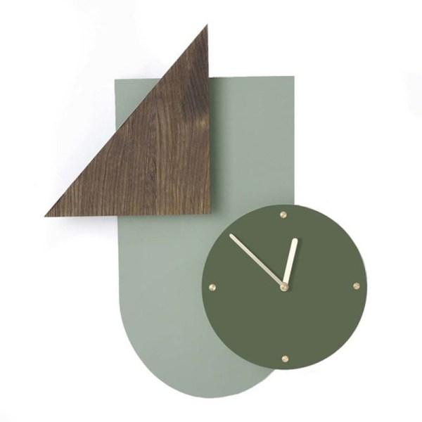 Horloge, Ferm Living — Bois Foncé, Ponio