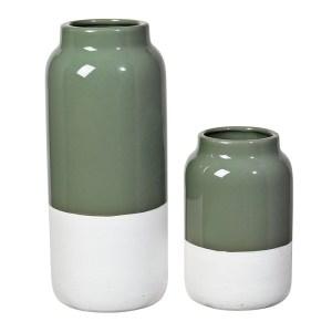 Vase, Broste Copenhagen — Vert Amande, Ponio