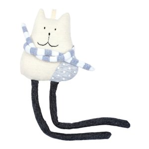 Doudou Chat, Smallable Toys — Gris Perle, Ponio