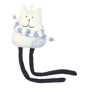 Doudou Chat, Smallable Toys — Gris Perle, Ponio