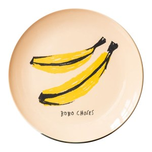 Assiette, Bobo Choses — Jaune Citron, Ponio