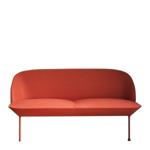 Canapé, Muuto — Orange Corail, Ponio