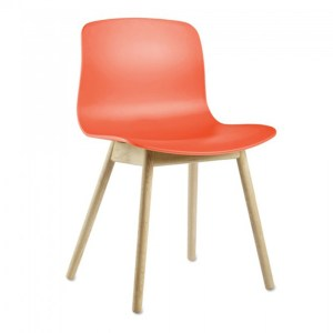 Chaise, Hay — Orange Corail, Ponio