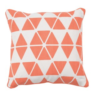 Coussin, Made — Orange Corail, Ponio