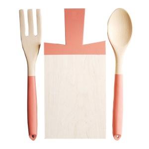Planche à Découper, For the Host — Orange Corail, Ponio